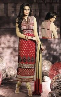 Red Salwar Kameez & Suits Online Shopping India Crazy Fashion Deal