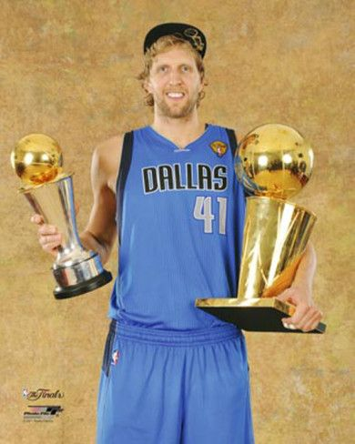 Dirk Nowitzki.....Best Mavs player ever! / member of the 50-40-90 club and missing it by a percentage point twice