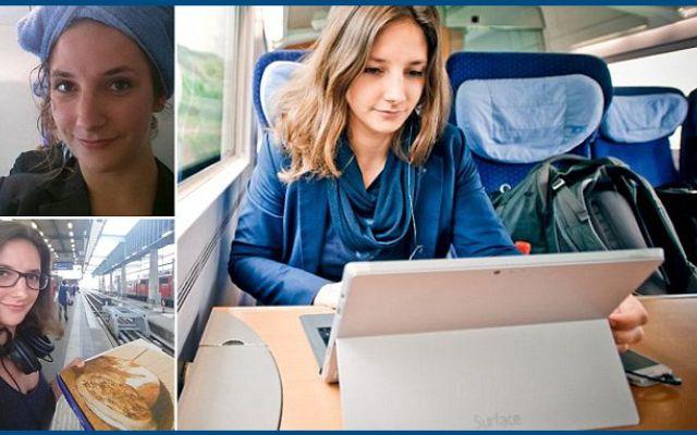 Ragazza tedesca vive sui treni: viaggia, studia e incontra tanta gente! #viaggia #vive #treno #studentessa