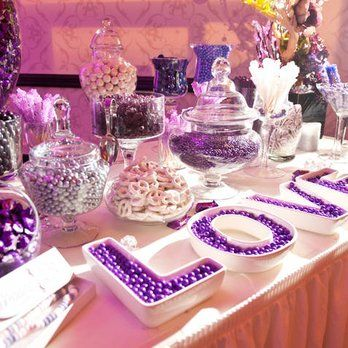 purple candy buffets are you planning a baby shower wedding or a birthday party thinking about putting up a candy bar
