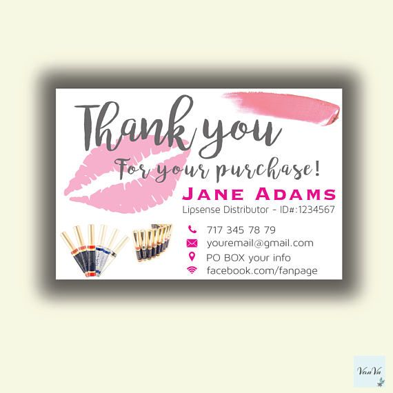 15 best lipsence facebook cover images on pinterest lipsense lipsense thank you cards thank you card for lipsense senegence thank you card colourmoves
