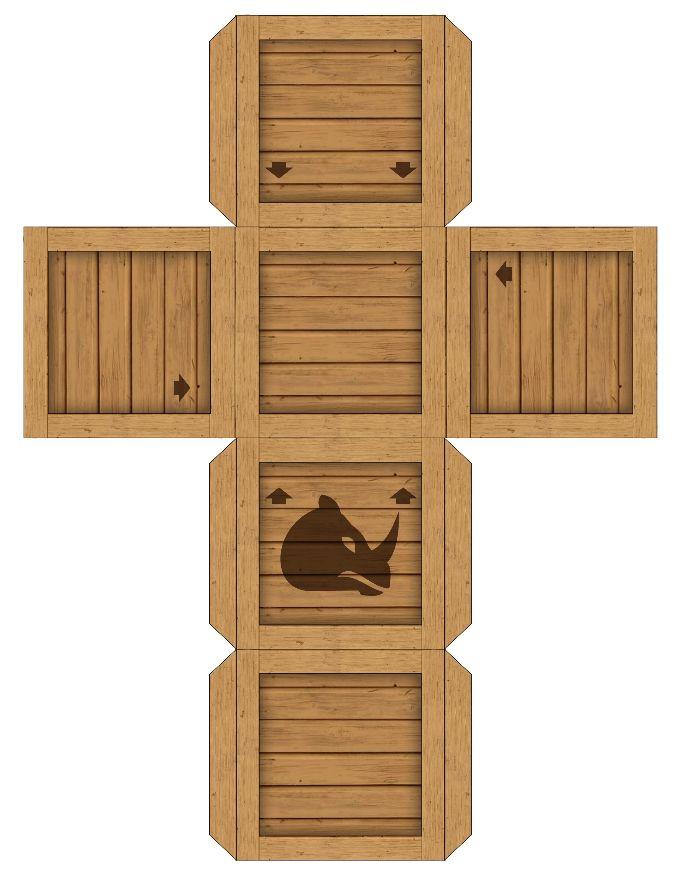 Rambi--- https://davesgeekyideas.com/2014/03/20/donkey-kong-country-animal-buddy-crates-papercraft/