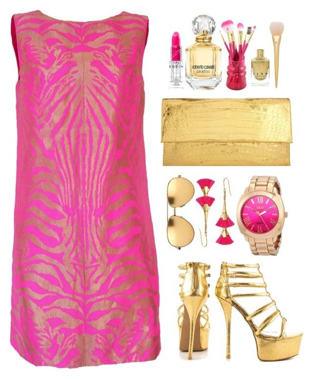 """Sicilia"" by teryblueberry ❤ liked on Polyvore featuring Qupid, Manish Arora, Nancy Gonzalez, Roberto Cavalli, Jacki Design, Stella & Dot, Linda Farrow, women's clothing, women and female"