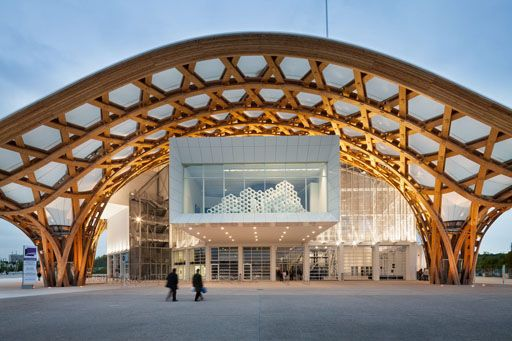 Centro Pompidou Metz, de Shigeru Ban y Jean de Gastines  #architecture #shigeruban Pinned by www.modlar.com