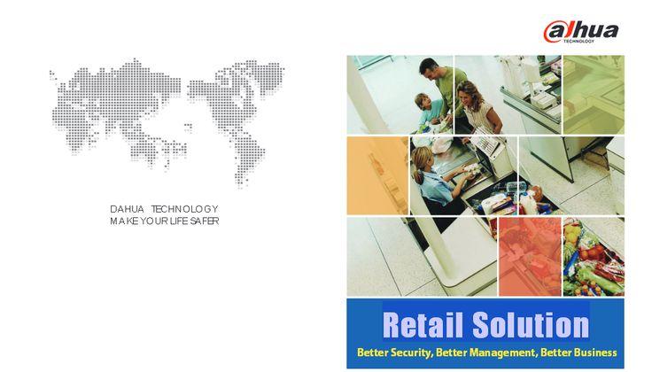 Retail surveillance Solution - DAHUA Retail surveillance CCTV System Solution - security CCTV Retail Solution