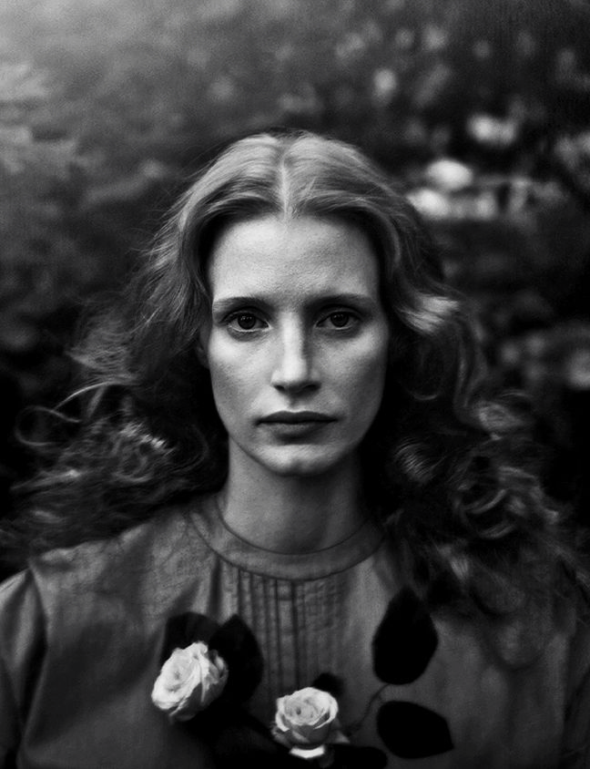 Jessica Chastain for Vogue, December 2013