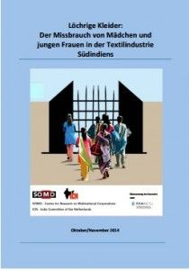 Textilindustrie: #Kinderarbeit, Zwangsarbeit, Schuldknechtschaft und Menschenhandel  Zwangsarbeit, Schuldknechtschaft und Menschenhandel gibt es in fünf südindischen Spinnereien – Lieferanten von H&M, C&A und Primark  http://www.cleankids.de/2015/01/15/textilindustrie-kinderarbeit-zwangsarbeit-schuldknechtschaft-und-menschenhandel/51934/