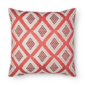 Red Diamond Oversized Throw Pillow - Threshold™ : Target