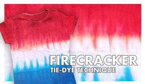 Website showing different types of tie dye techniques DIY