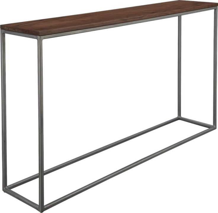 framework console table  | CB2.... for behind the couch in the living room