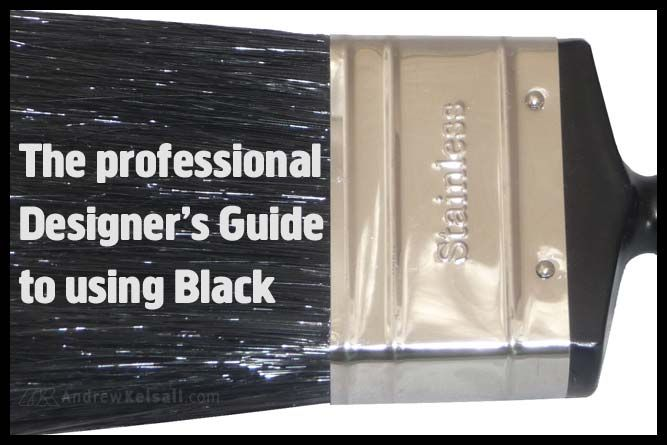 The Professional Designer's Guide to Using Black