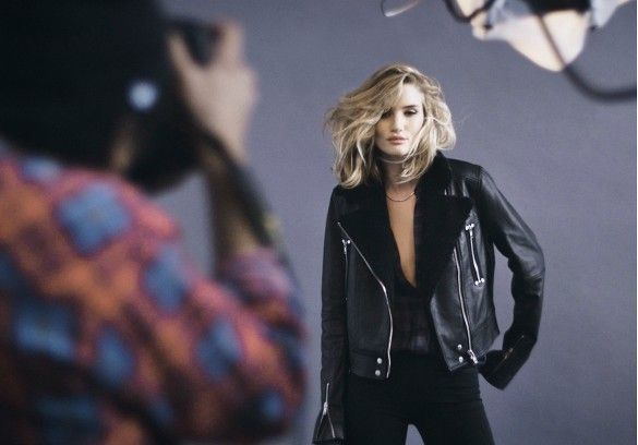 Who What Wear | Behind-the-scenes of Rosie Huntington-Whiteley Paige Fall 15 Campaign
