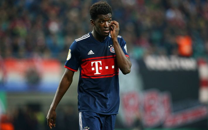 Download wallpapers Kwasi Okyere Wriedt, 4k, footballers, Bayern Munich, Bundesliga, soccer, football