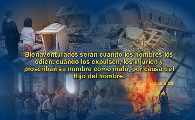 Bienaventurados serán cuando los hombres los odien, cuando los expulsen, los injurien y proscriban su nombre como malo, por causa del Hijo del hombre.