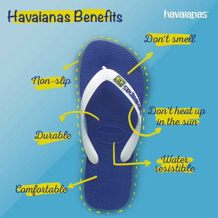 Havaianas believes in Havaianas!  #AboutHavaianas #HavaianasBenefits