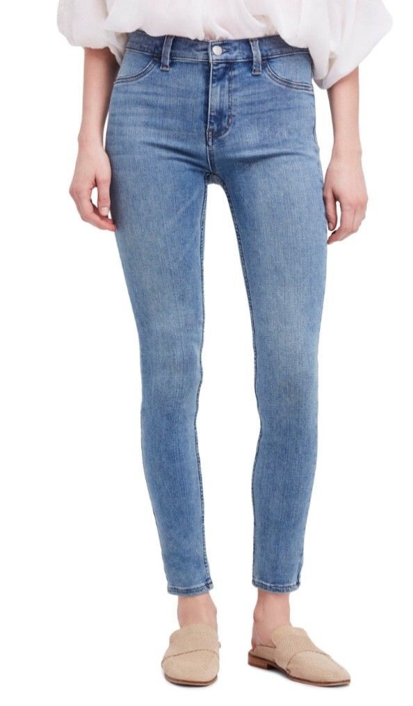 73898aff1438f3 Free People Jeans - Skinny Stretch Denim - Style 61855-1651 5125 - Size 25  (2)