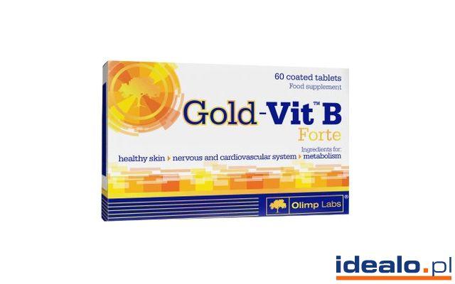 Preparat wzmacniający odporność Olimp Labs Gold-Vit B Forte (60 tabletek) od 8,97 zł WIĘCEJ: http://www.idealo.pl/ceny/4033369/olimp-labs-gold-vit-b-forte-60-tabletek.html