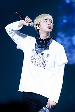 Kim Seok-jin at The Mood For Love On Stage Epilogue in Nagoya, in July 2016 01.jpg