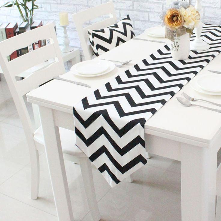 北欧テーブルランナーレビュー -オンラインショッピング 北欧テーブル ... 幾何学的なノルディックストライプダイニングテーブルランナーナプキン高級ファブリックベッドランナーコーヒーテーブルのフラグ