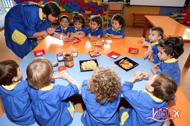P2 #BabygardenISP han aprendido a diferenciar los conceptos dulce y salado. ¡¡Qué divertido!!    #InglésISP #InteligenciasMúltiplesISP