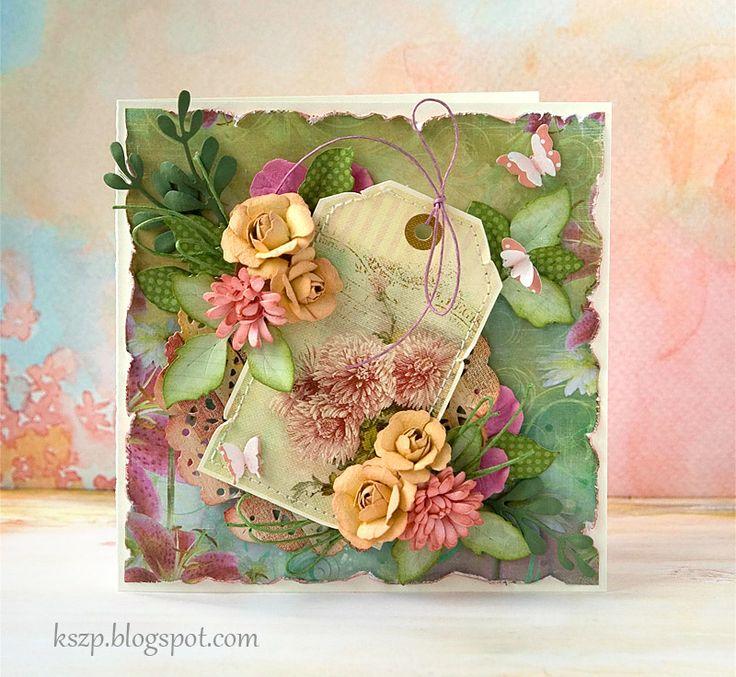 Klaudia / Kszp: floral, I love her use of color here.