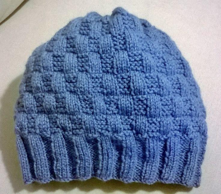 Cappello a scacchi con schema - winter hat - free pattern