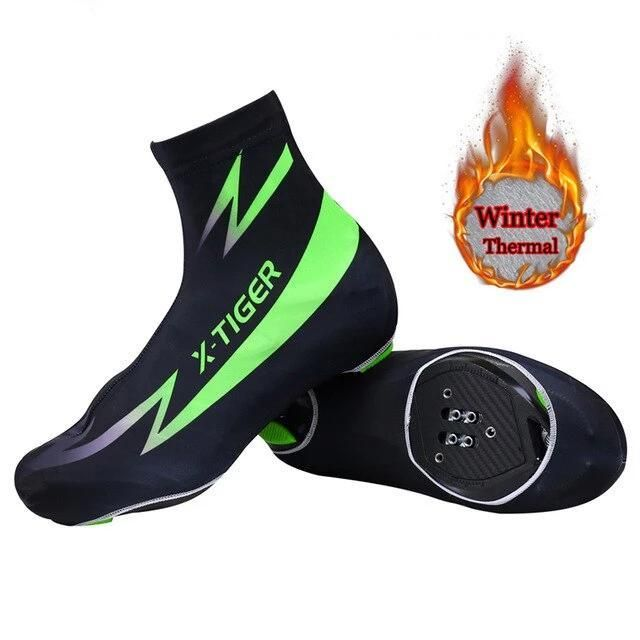 Winter Thermal Cycling Shoe Cover Sport Mans Mtb Bike Shoes Covers