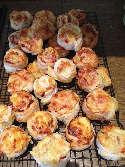 Ham and Cheese Scrolls by planningqueen, via Flickr