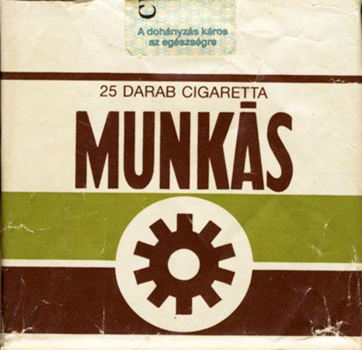 MUNKAS 25 Darab Cigareta