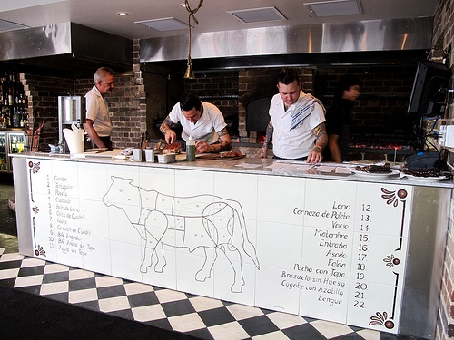 Porteno's cow map, Surry Hills
