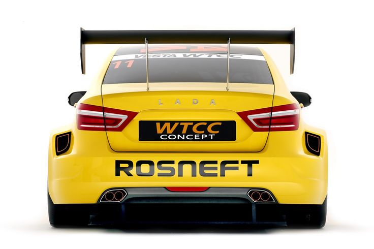 Lada Vesta Dressed as WTCC Racer at the Moscow Show [w/Videos]