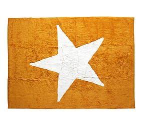 Alfombra de algodón Estela, mostaza – 120x160 cm