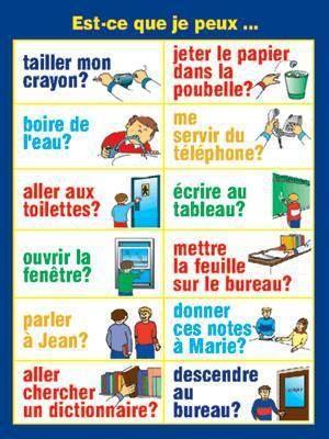 319 best images about FLE: École on Pinterest