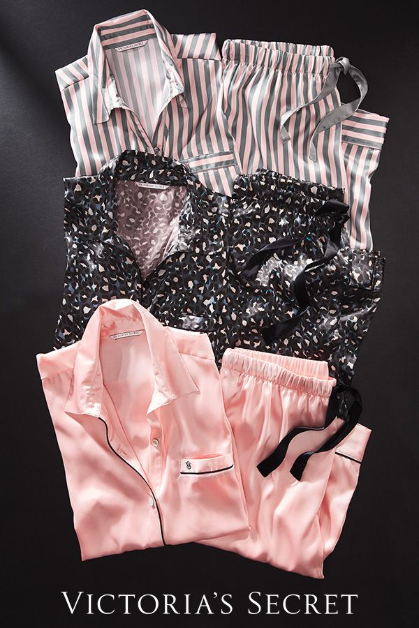 PJ party looks, anyone? #VDay #gifts | Victoria's Secret