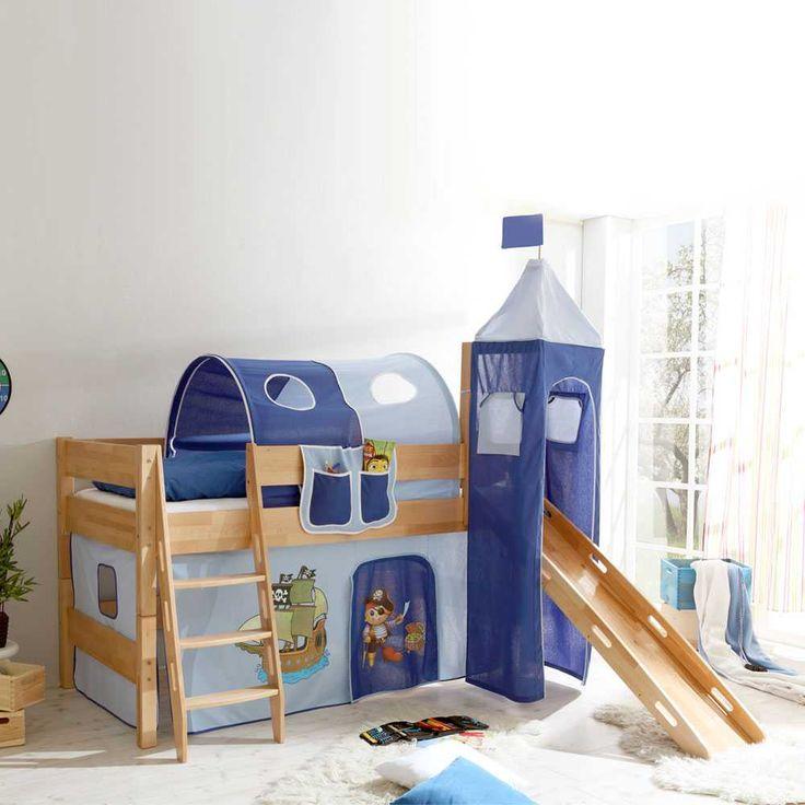 Kinderhochbett design  Die besten 25+ Kinderhochbett mit rutsche Ideen auf Pinterest ...