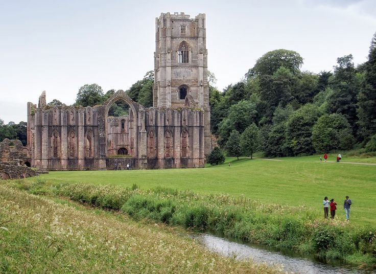 Fountains Abbey - North Yorkshire - England