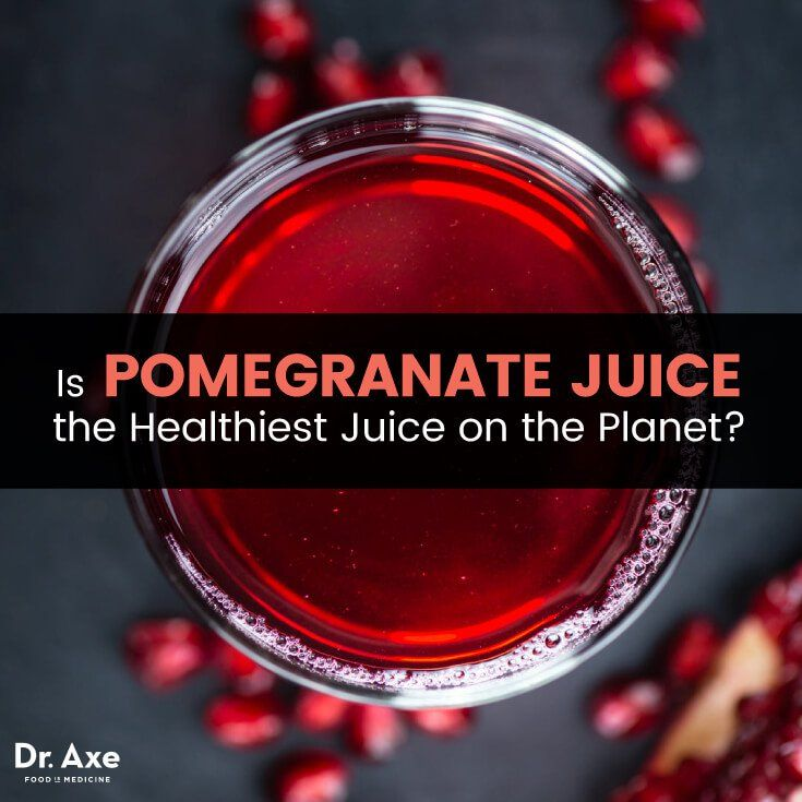 Pomegranate juice - Dr. Axe http://www.draxe.com #health #holistic #natural