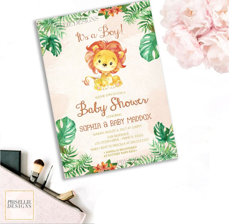 111 best Baby Shower Invitations - PrisellieDesigns on Etsy images ...