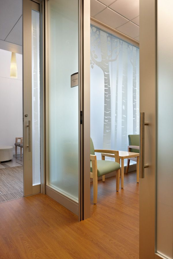 Check out KI's #Genius wall at Smokey Point Medical Center. To learn more visit www.ki.com #healthcare #furniture