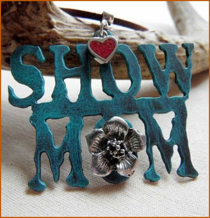 Show Mom Necklace. A special gift for that FFA, 4-H, Rodeo, Horse Show or whatever show mom! Use coupon code FREESHIPPING through 12/31/2016.