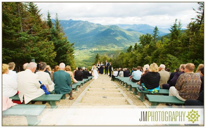 Loon Mountain NH | Wedding Photography | Wedding Ceremony in New Hampshire |