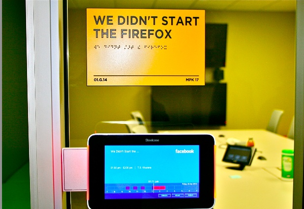Exclusive Look Inside the New Facebook HQ: You'll Like This [PICS]. Meeting  Room NamesWayfinding ...