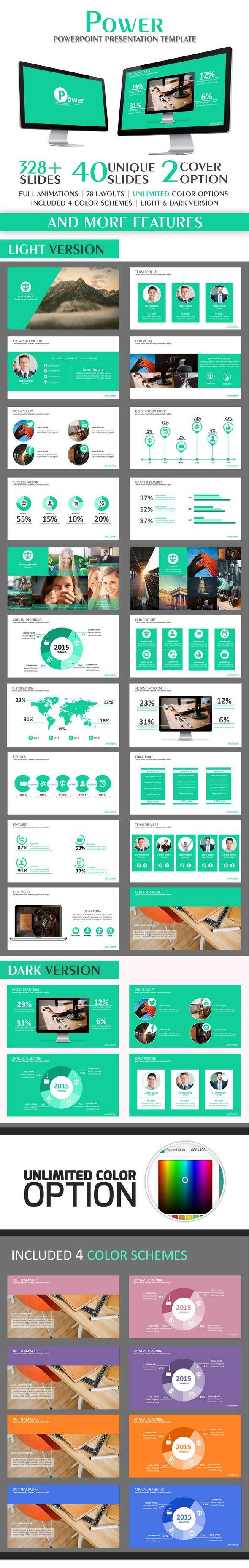 Power PowerPoint Tempalte #design #slides Download: http://graphicriver.net/item/power-powerpoint-template/12607075?ref=ksioks