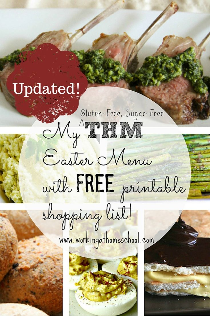 Low Fat Easter Menu Ideas 87