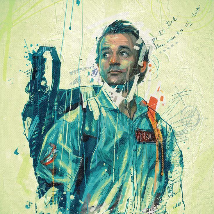 "Best Celebrity Piece - ""Ghostbusters"" by Armando Mesias"