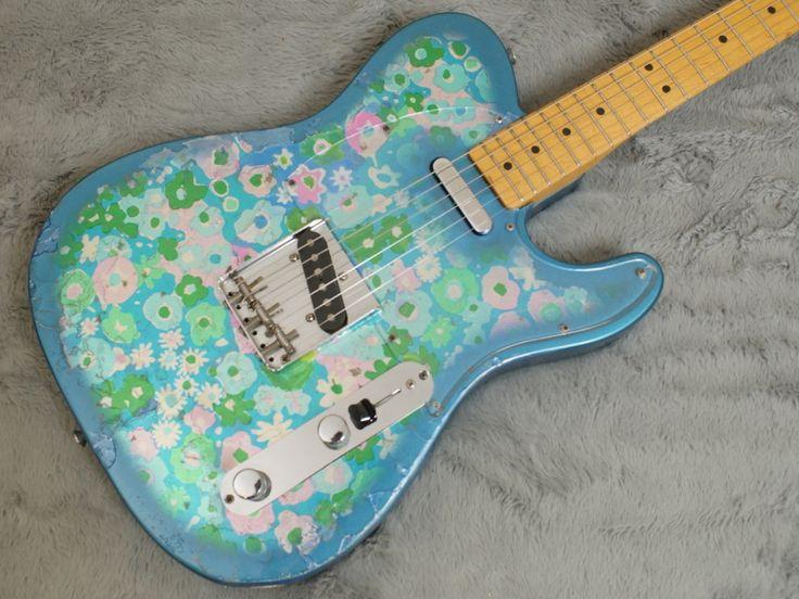 1968 Fender Telecaster Blue Flower + OHSC