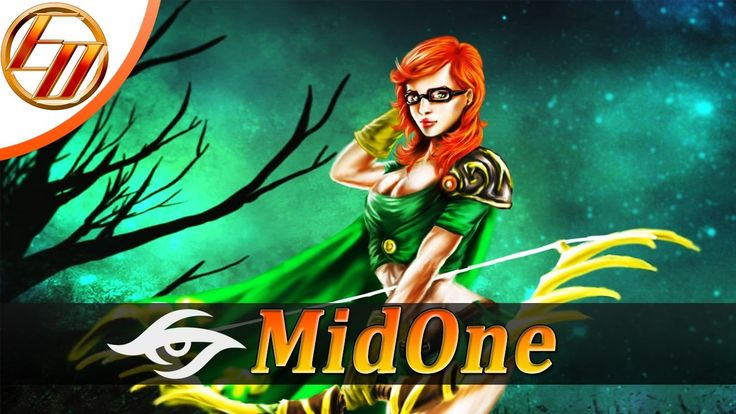 MidOne  Windranger  Dota 2 Pro Gameplay | Team Secret