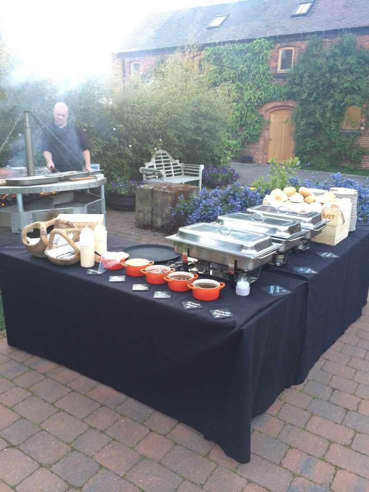 Fire Pit Barbecue - Evening Food Option C @GGWeddings