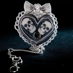 Love or Die Design  reflector jewel