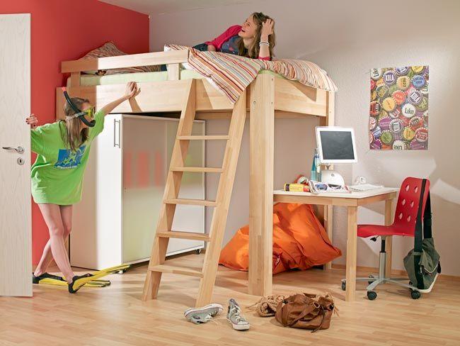 Costruire Un Letto A Castello Fai Da Te : Per costruire un letto a soppalco elegante dotato di scrivania
